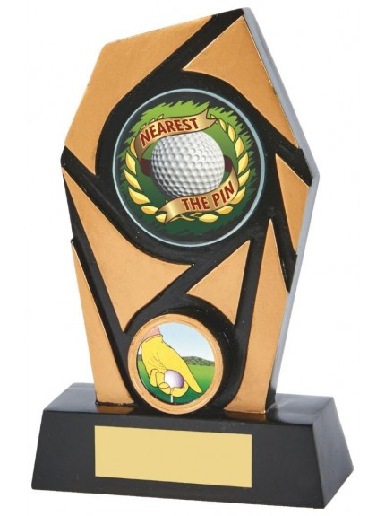 15cm Nearest the Pin Resin Trophy