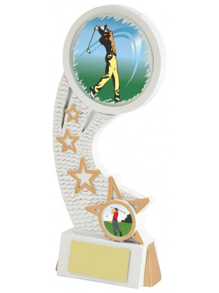 White Resin Golf Star Award