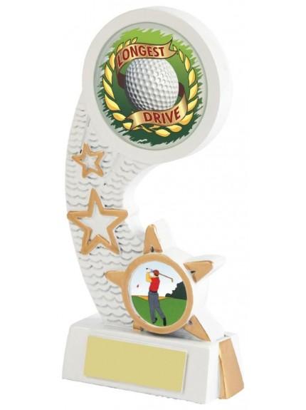 15.5cm White Resin Nearest the Pin Award