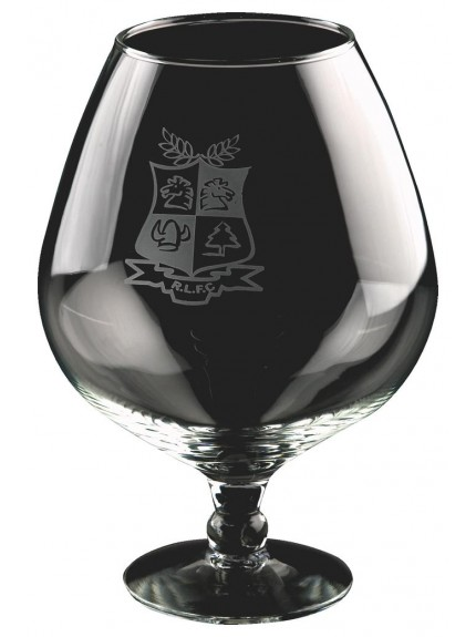 Large 70Oz Brandy Balloon In Presentation Case In Clear Glass