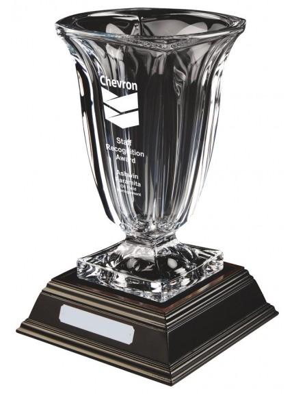 Bohemia Crystalite Vase Award