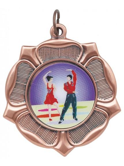 Rose 5cm Medal