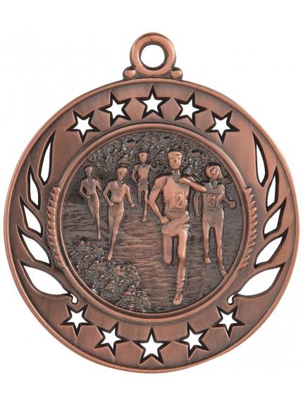 6cm Running Medal