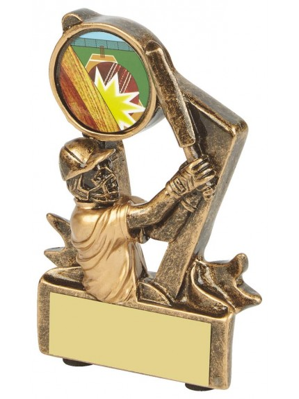 Gold Resin Cricket Batsman Award