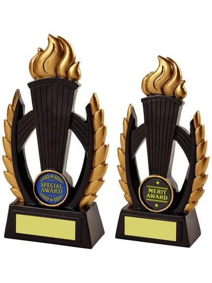 Black Resin Victory Torch Award