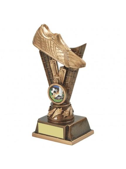 Golden Boot Resin Football Award - 2 Sizes