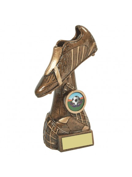 Gold Boot Football Award - Available in 5 sizes