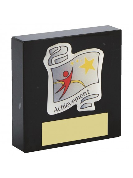 7.5cm Marble Block Scroll award
