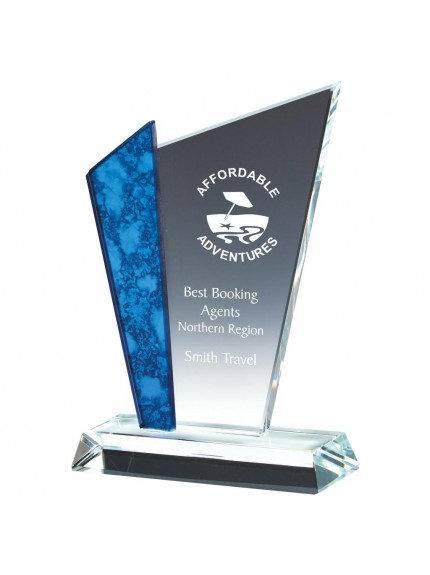 Glass Upright Award - Available in 2 sizes