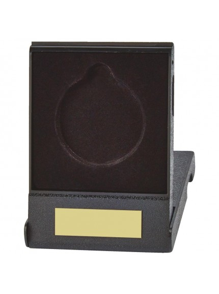 Economy Black Medal Box for 70mm Medals