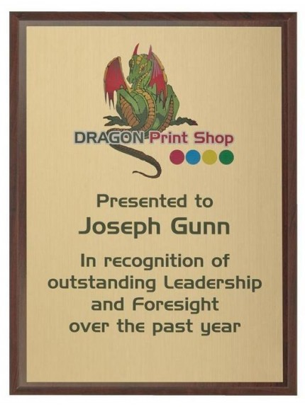 Wall mounted Plaques