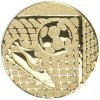 FOOTBALL BOOT/BALL CENTRE - GOLD 1in