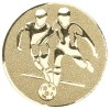 DOUBLE FOOTBALL CENTRE - BRONZE 2in