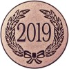 2019 YEAR DATE CENTRE - BRONZE 1in