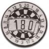 Dart 180 Silver 25mm