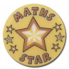 Maths Star 25mm