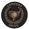 Longest Drive Gold Wreath 25mm