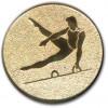 Gymnastics Male Gold 25mm