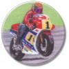 Motorcycle Road race 25mm
