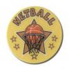 Netball Star 25mm