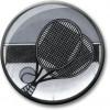Tennis Centre Silver 25mm