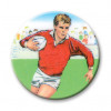 Rugby Player 25mm