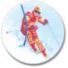 Ski Slalom 25mm