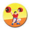 Weightlifter Clean/Jerk 25mm
