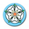 Flower-Yorkshire Rose 25mm