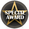 Special Award Centre Black/Gold 25mm