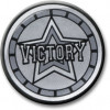 Victory Centre Silver 25mm