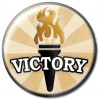 Victory Award Gold 25mm