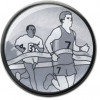 Male Running Centre Silver 25mm