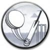 Cricket Centre Silver 25mm