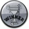 Winner Centre Silver 25mm