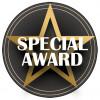 Special Award Centre Black/Gold 25mm