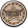 Victory Centre Gold 25mm