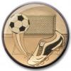 Football Centre Gold 25mm
