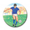 Footballer-Male Blue 25mm
