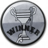 Winner Centre Silver 25mm