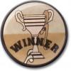 Winner Centre Gold 25mm