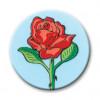 Flower - Red Rose 25mm