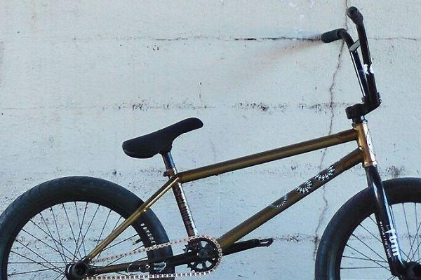 A BMX Bike Frame