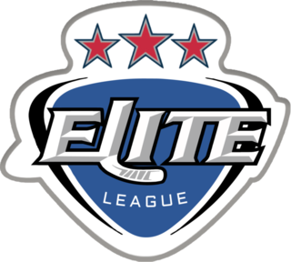 The Elite Ice Hockey League Logo