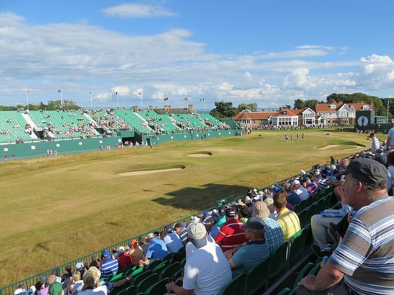 18th hole at Muirfield Golf Club