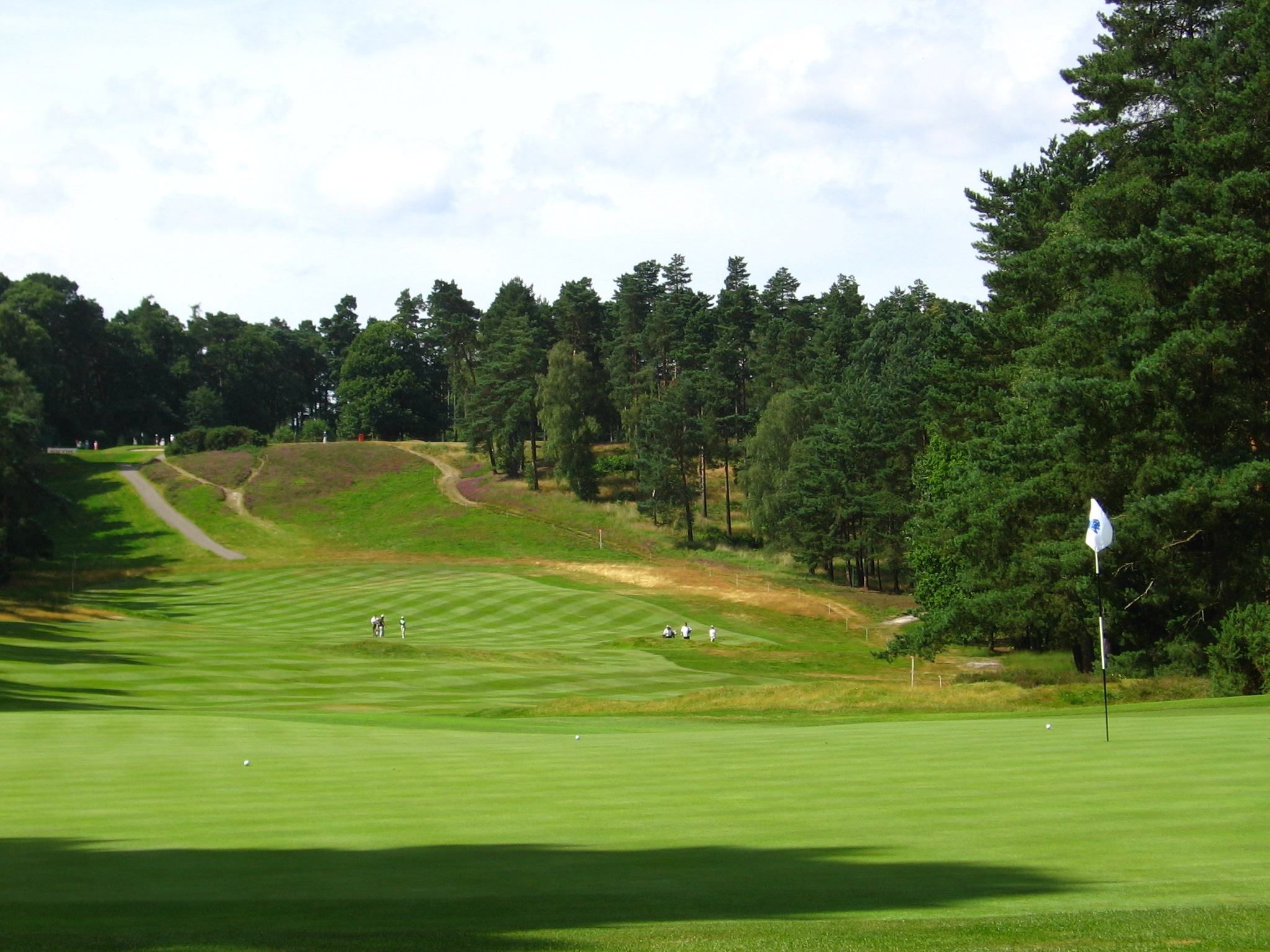 The New course at Sunningdale golf club
