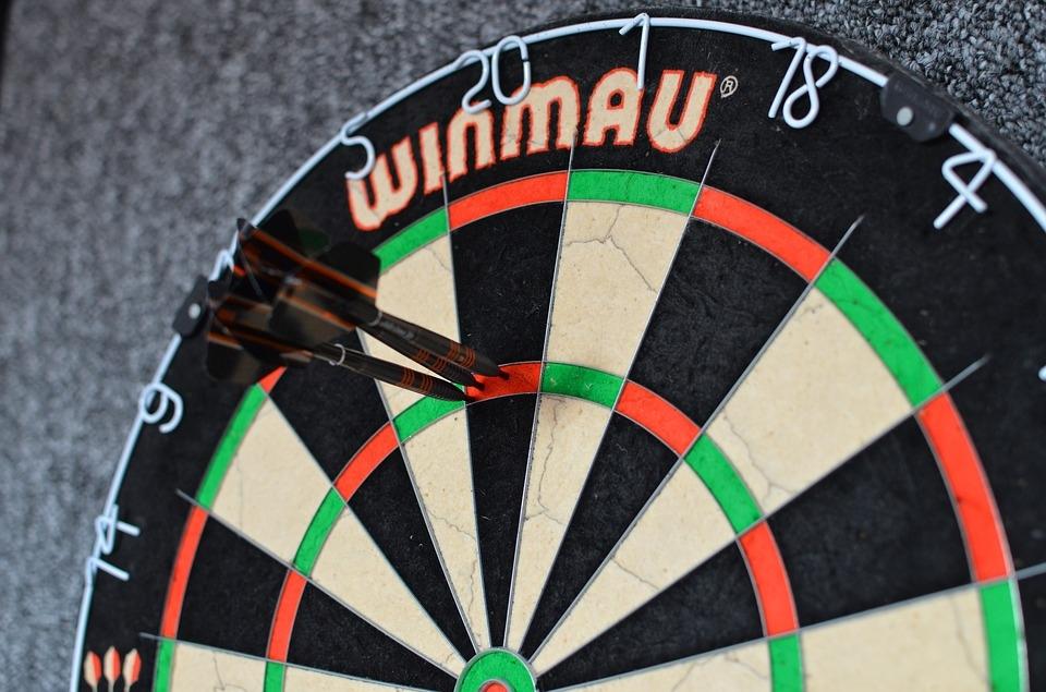 How to throw three darts in treble 20