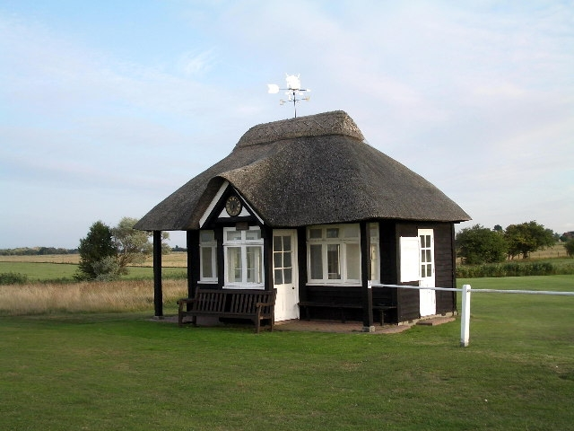 Starters hut on the Royal st. George's golf course