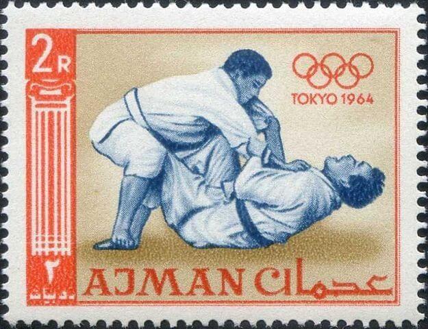 Tokyo 1964 Olympics stamp