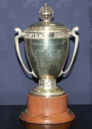 The Bermuda Bowl Bridge World Championships Trophy